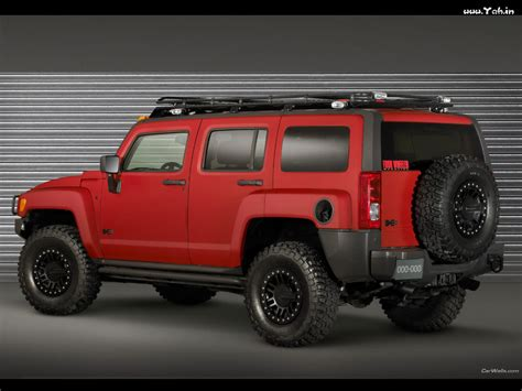 Hummer H3 Red Gallery. Moibibiki #2