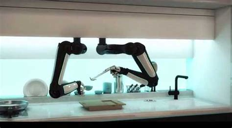 cooking a robo chef to prepare meals for you while