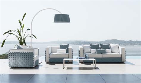 canape exterieur haut de gamme canapé d 39 extérieur en aluminium idd