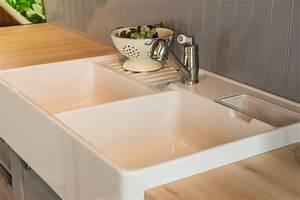 Evier Cuisine Ceramique : viers de cuisine inox c ramique et r sine silgranit ~ Premium-room.com Idées de Décoration