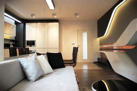 modern apartment ideas  futuristic vibe decorating