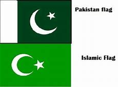 Why do Muslims of India use the Pakistan flag in their