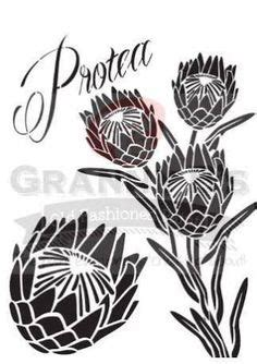 shop south african design large protea magnet meekel
