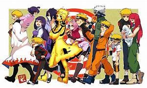 NARUTO Uchiha Sasuke Namikaze Minato Uzumaki Naruto ...