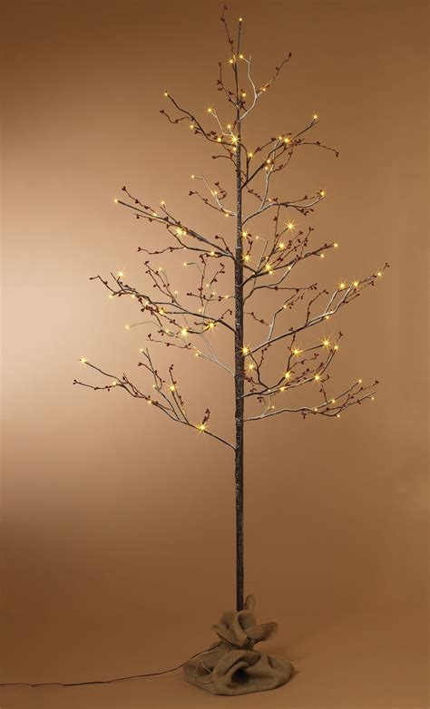 gerson everlasting glow outdoor snowy  birch lighted