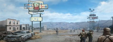 Fallout: New Vegas Dual Monitor Wallpaper