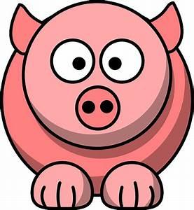 Cute Cartoon Pig Face - ClipArt Best
