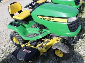 John Deere X300 Riding Mower