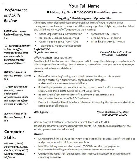 Professional Resume Template Word by Resumes Template With Quotes Quotesgram