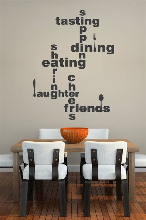 dining room wall decals ideas    interior god