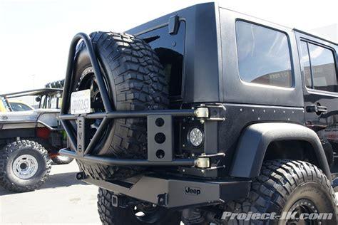 Jeep Wrangler Jk Tire Carrier Rear Bumper Diy Plans
