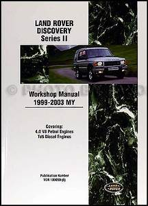 Find Land Rover Discovery Shop Manual Series Ii 1999 2000 2001 2002 2003 Repair Motorcycle In