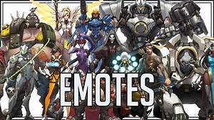 Heroes Of Overwatch Emotes YouTube