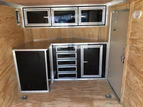 enclosed trailer cabinets v nose motorcycle review and galleries