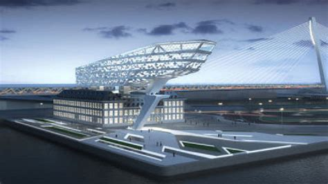 port house antwerp belgium zaha hadid floornature