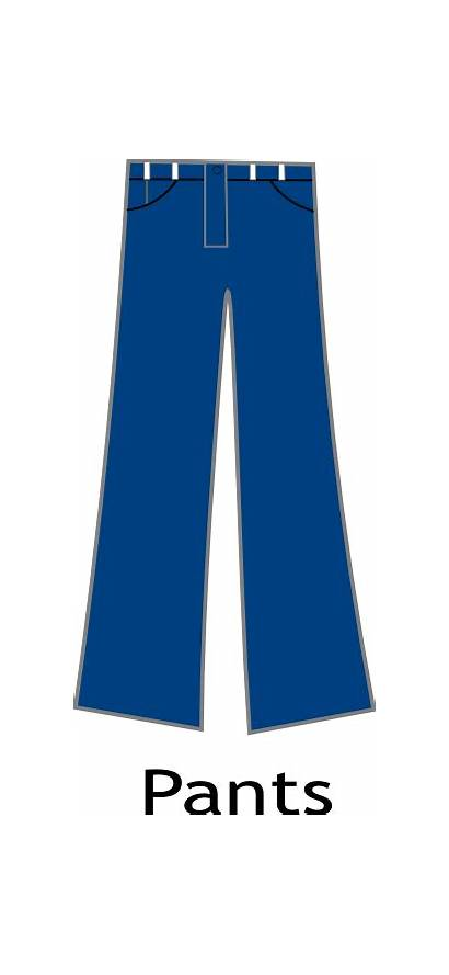 Pants Clipart Cartoon Clip Trousers Pant Animated