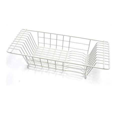 Closetmaid Dish Drainer - closetmaid 8 in x 20 in kitchen sink dish drainer in