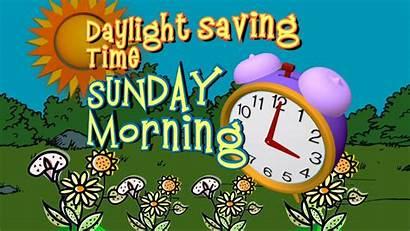 Daylight Saving Savings Clipart Clocks Change Spring
