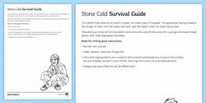 Survival Guide Worksheet    Worksheet To Support Teaching