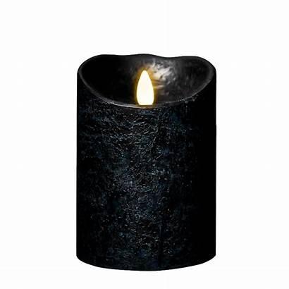 Aubergine Candle Pillar Flame Candles Luminara Inch