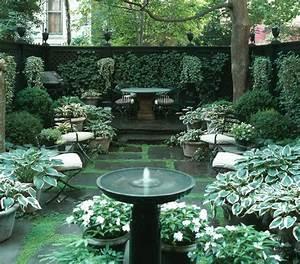 26, beautiful, townhouse, courtyard, garden, designs
