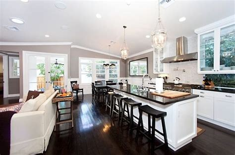 open floor plan kitchen the pros and cons of open versus closed kitchens