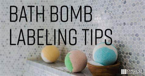 label bath bombs  gain exposure  sales
