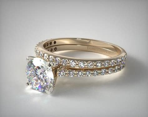 25 best ideas about gold engagement rings on pinterest