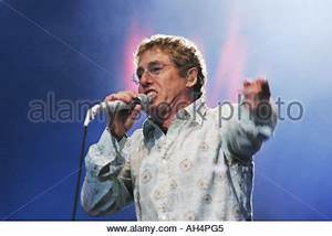Roger Daltry of The Who Stock Photo, Royalty Free Image ...