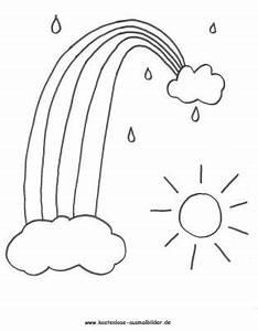 Regenbogen Zum Ausmalen : ausmalbilder himmel himmel ausmalen ausmalbilder ~ Buech-reservation.com Haus und Dekorationen