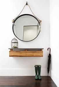Miroir Pour Entrée : meuble pour entr e une trentaine d 39 id es de rangement ~ Teatrodelosmanantiales.com Idées de Décoration