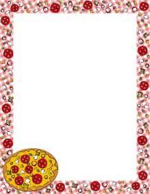 Pizza Border Clip Art Free