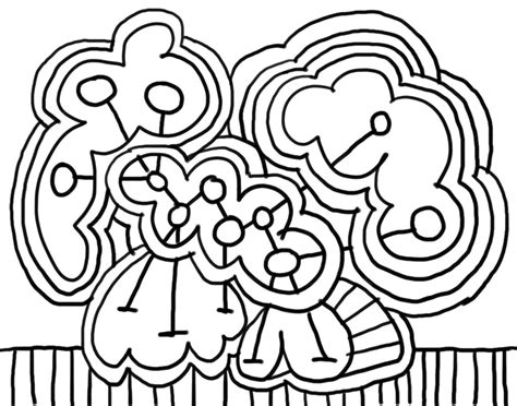 Free Printable Abstract Coloring Pages For