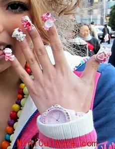 Cute pretty nail designs for school girls - Mini Culture