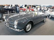 1963, Alfa Romeo 2600 Spider, Exterior and Interior, Retro