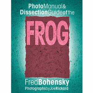 Photo Manual And Dissection Guide Of The Frog