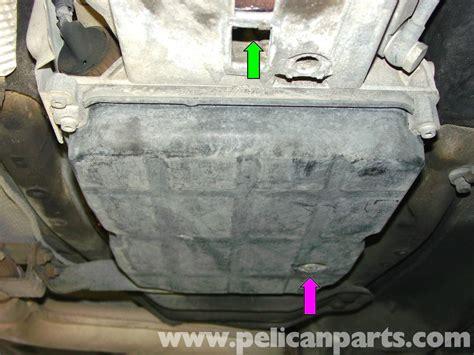mercedes benz automatic transmission fluid change      pelican parts diy