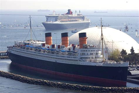 Art Now And Then The Rms Queen Mary