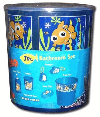 finding nemo bath set finding nemo bathroom kit nursery disney