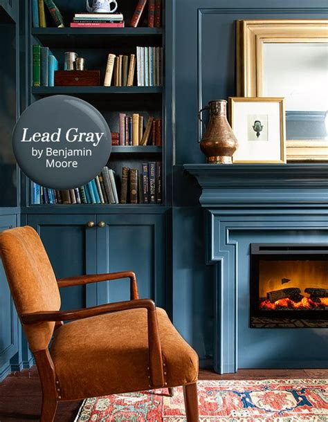 paint color lead gray by benjamin paint
