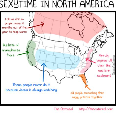 Sexy Time Meme - sexy time in north america acorrding to the oatmeal by hetaliafan meme center