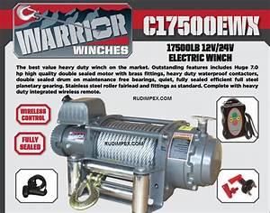Champion 8000 Lb Winch Wiring Diagram
