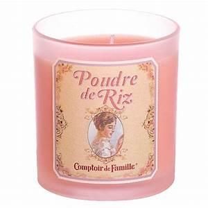 Bougie Poudre De Riz Comptoir De Famille Provence Armes