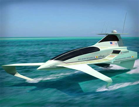 Hydrofoil Yacht Design by Flying On Water