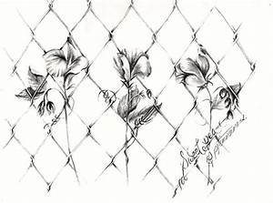 drawing chain link fence – luv2draw.com