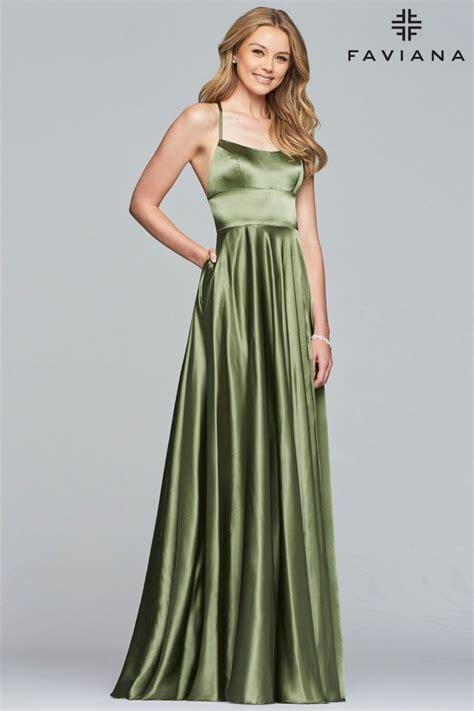 Faviana Dress S10211 | PeachesBoutique.com | Faviana prom ...