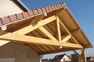 Ferme De Charpente : ferme en bois de charpente ~ Melissatoandfro.com Idées de Décoration
