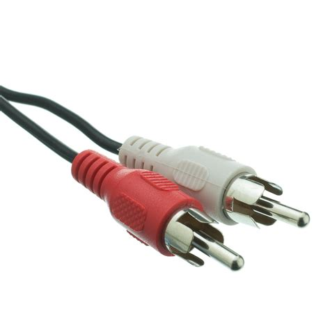 12ft 3.5mm Stereo to RCA Stereo Cable, Male to Male