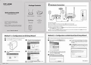 Tp-link Tl-wr841n V9 Quick Installation Guide