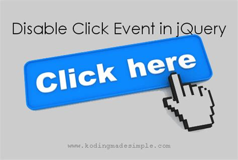 Jquery Resume Click Event by How To Disable Click Event In Jquery Enable Disable Button Click